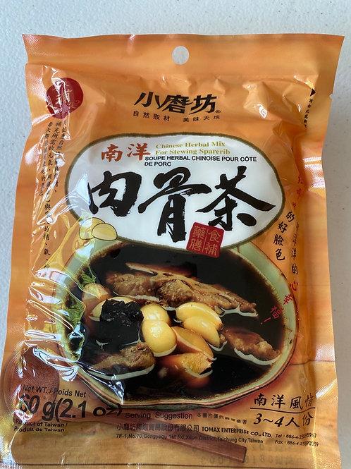Tomax Chinese Herbal Mix 60g 小磨坊南洋肉骨茶