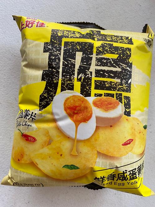Oishi Salted Egg Yolk Flav 上好佳鮮香鹹蛋黃味