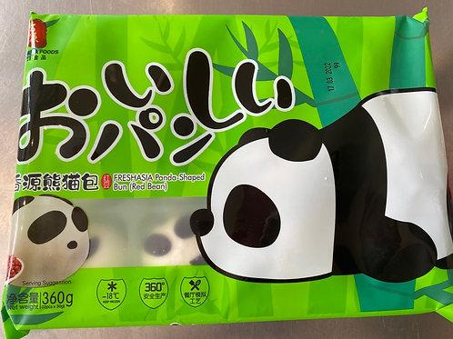 Freshasia Panda Shaped Bun (Red Bean)香源熊猫包360g