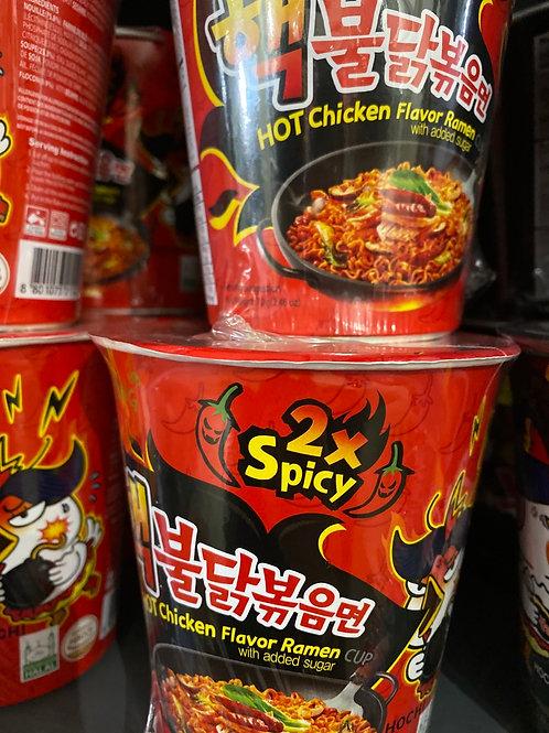 Hot Chicken Ramen x2 spicy