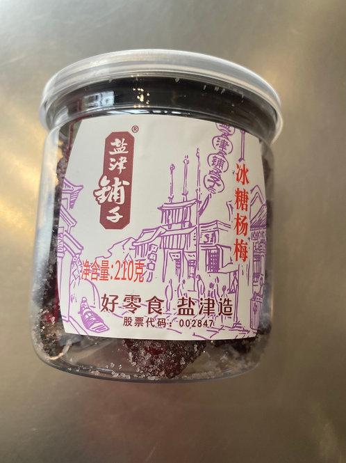 YJPZ Dried Waxberry 210g 盐津铺子冰糖杨梅