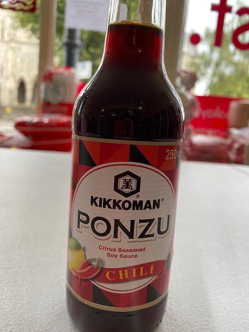 Kikkoman Ponzu Chilli Soy Sauce 250ml