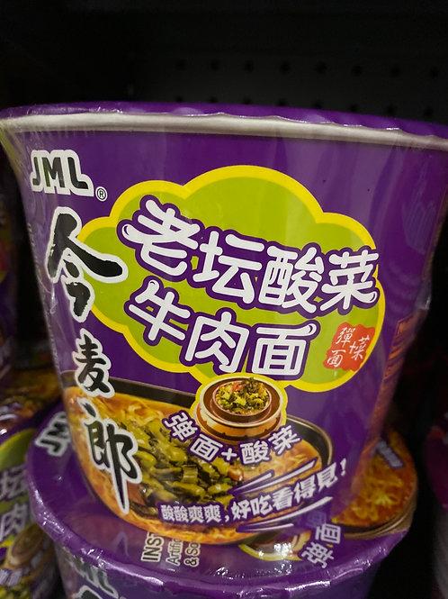 JML Sour Mastard Beef Noodle