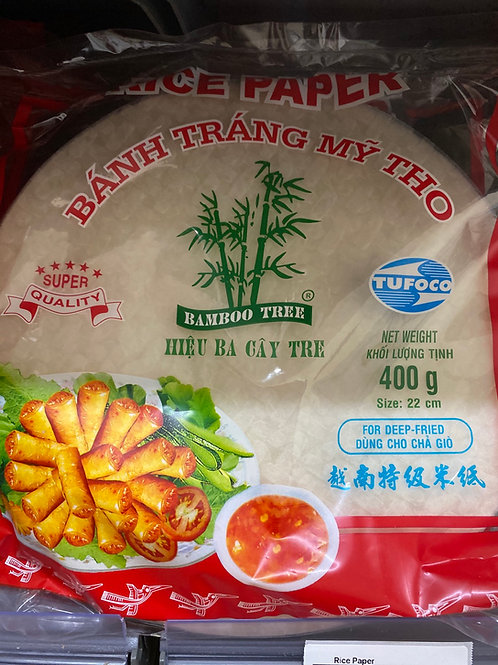 Bomboo Tree Rice Paper For Deep Fried 400g