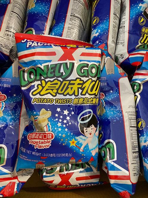 Lonely God Potato Twists Veg Flav 浪味仙蔬菜