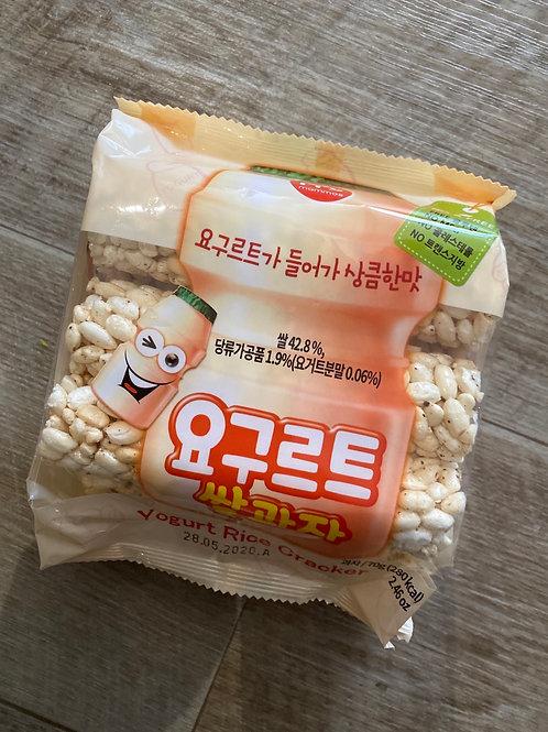 Yogurt Rice Cracker