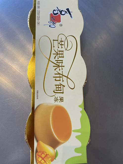 ST 3 Cup Jelly Mango Flav 喜之郎芒果布丁