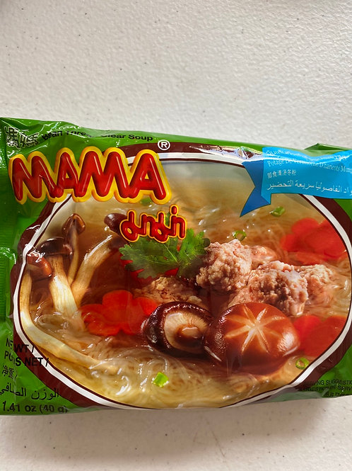 Mama Instant Mung Bean Noodle With Clear Soup