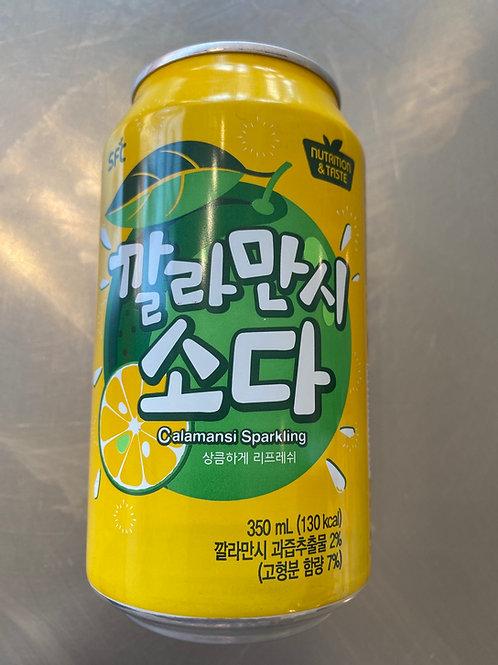 Calamansi Sparking Soda 350ml