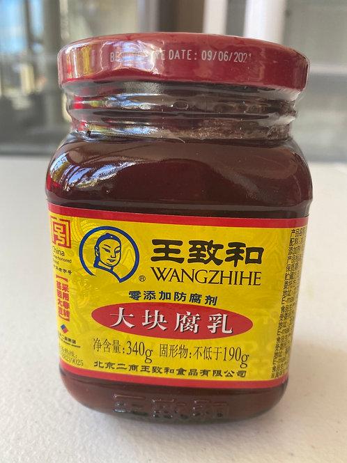 WZH Traditional Bean Curd 王致和大块腐乳340g