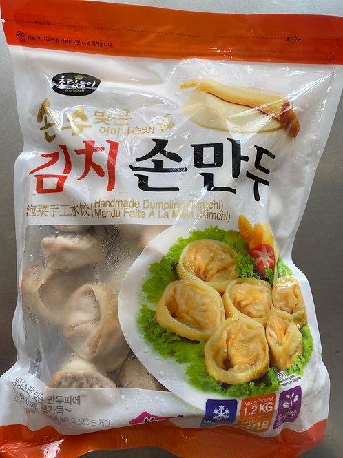 ChoripDong Handmade Korean Kimchi Dumplings 韩国泡菜手工水饺1.2kg