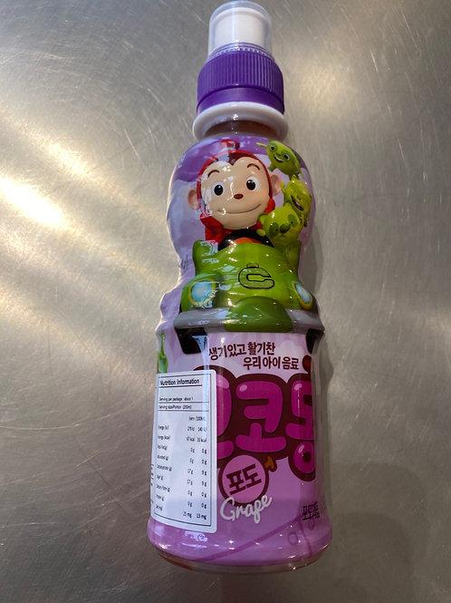 Woogjin Cocomong Grape Juice