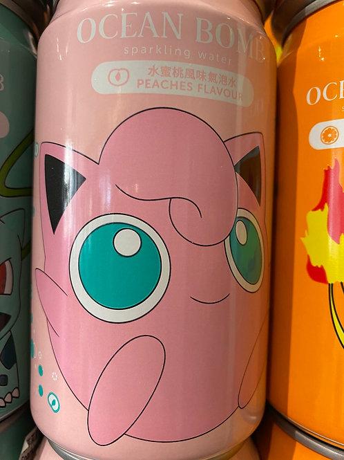Ocean Bomb Peach Flav Sparkling Water