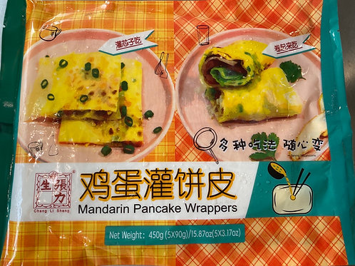 CLS Mandarin Pancake Wrappers 张力生鸡蛋灌饼皮450g
