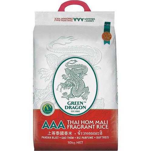 Green Drogan Thai Jasmine Rice 10kg