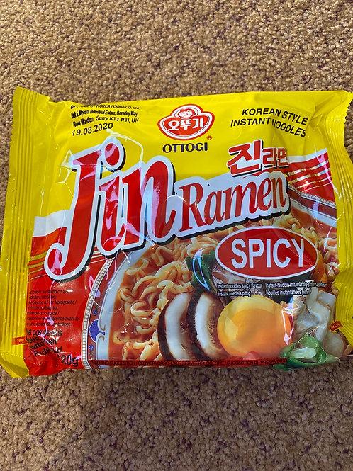 Ottogi Instant Noodle Jin Ramen Spicy Flavour
