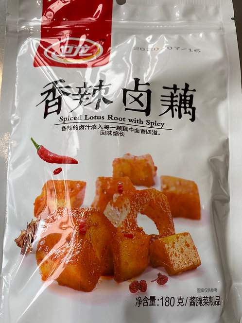 WL Spiced Lotus Root With Spicy 卫龙香辣卤藕