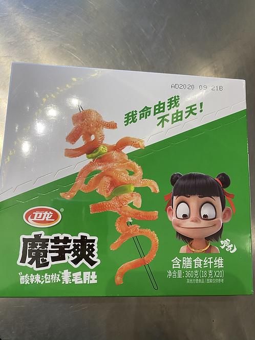 WL Vermicelli Sour & Spicy 卫龙魔芋爽20x18g