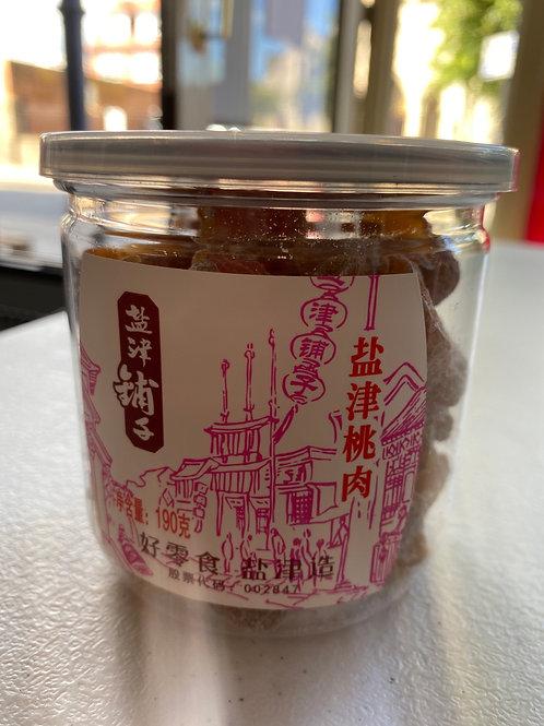 YJPZ Salted Dried Peach 盐津铺子盐津桃肉