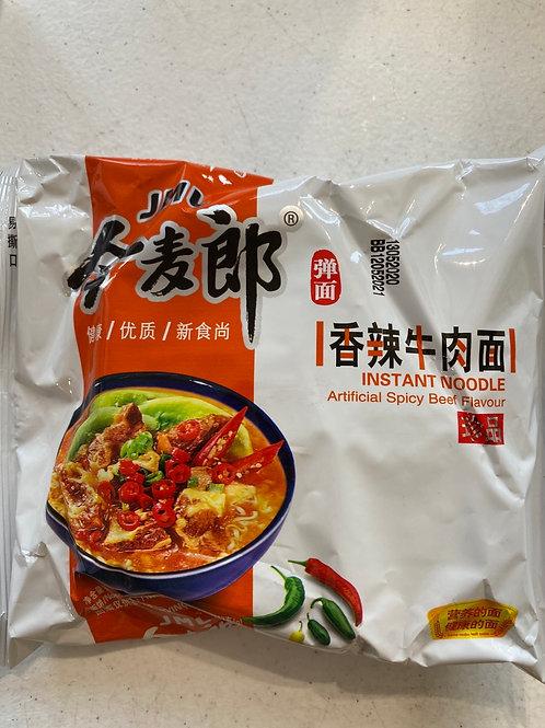 JML Instant Noodle Spicy Beef Flav 今麦郎香辣牛肉面