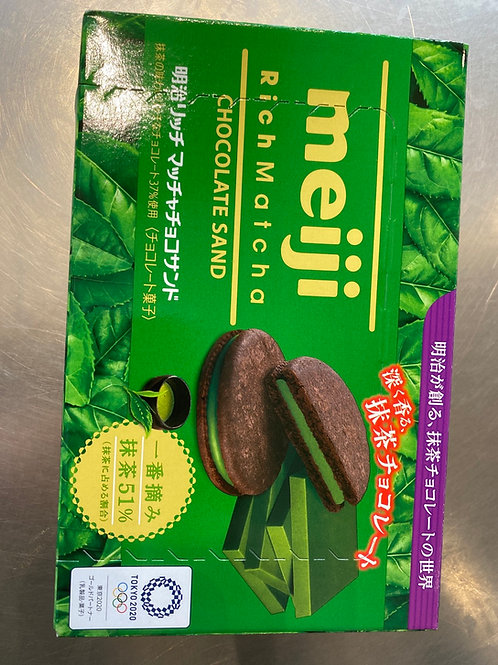 Meiji Rich Matcha Chocolate Sand