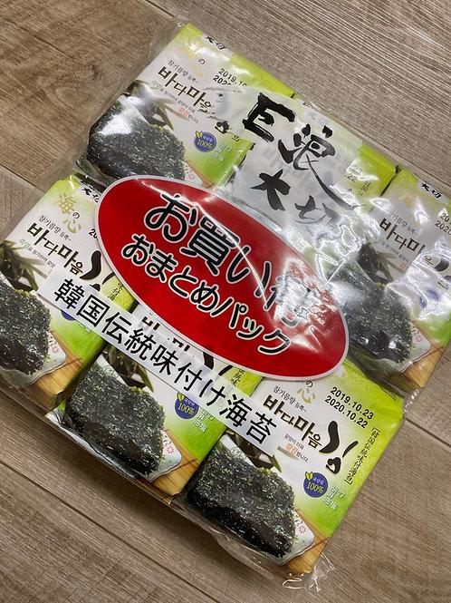 EDO Seasoned Seaweed (12pks)