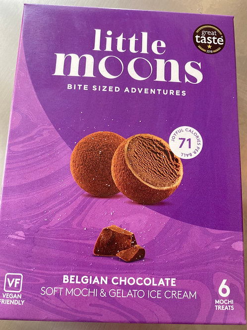 Little Moon Chocolate Mochi Ice Cream