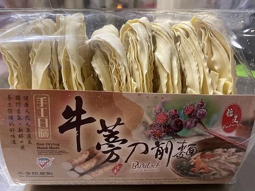 FX Burdock Sliced Noodle 400g福星牛蒡刀削面