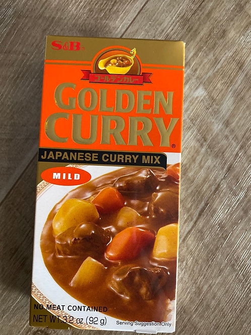 Golden Curry Mild 92g