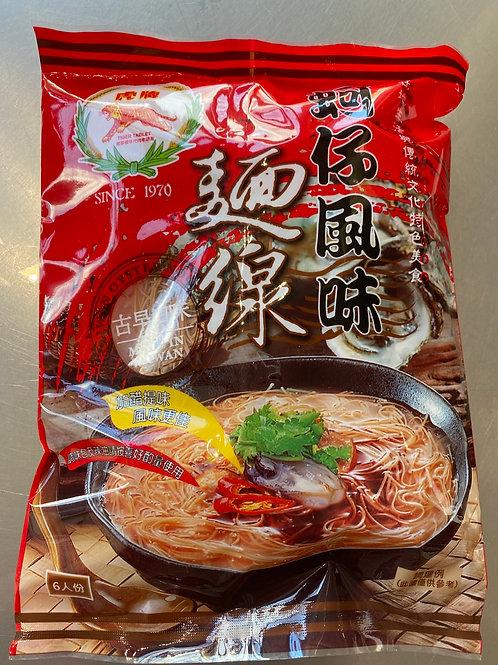 Tiger Brand Red Noodles 虎牌蚵仔风味面线300g