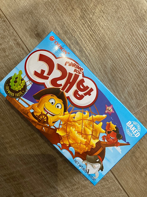 Orion Fish Crackers