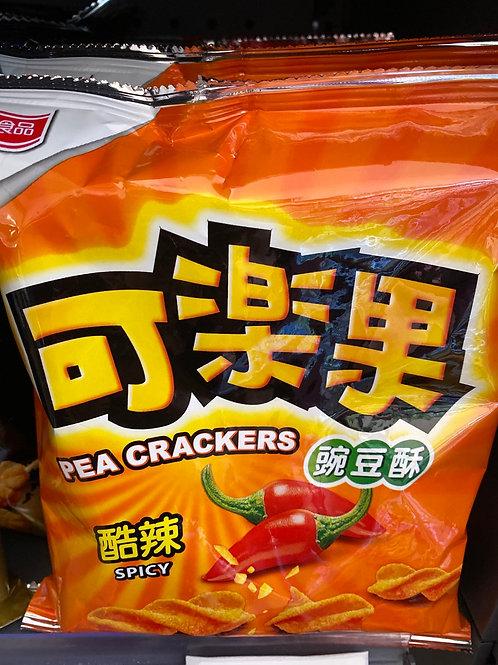 Pea Crackers