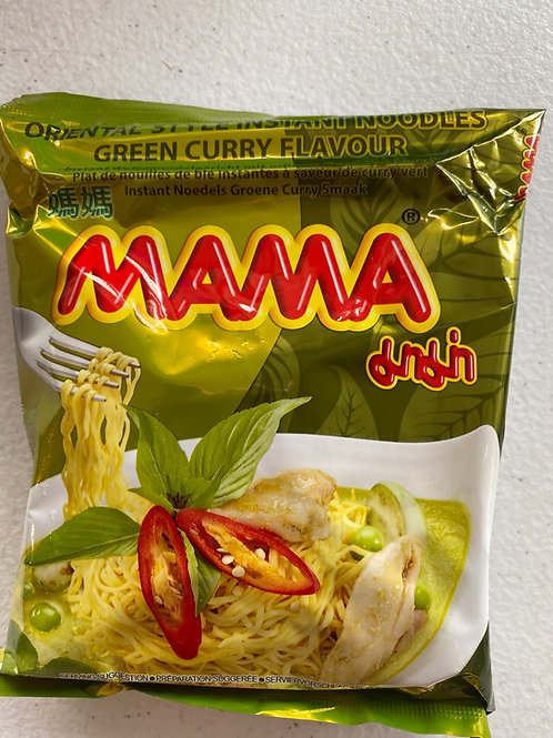 Mama Green Curry Flav Noodle