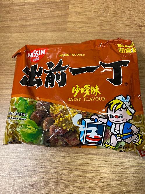 Nissin Instant Noodle Satay Flavour