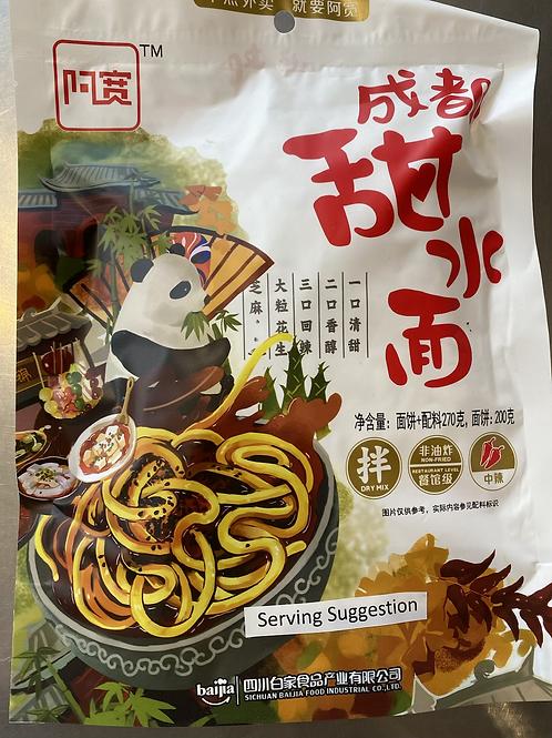AK Chengdu Sweet Noodle (Bag)270g 成都甜水面