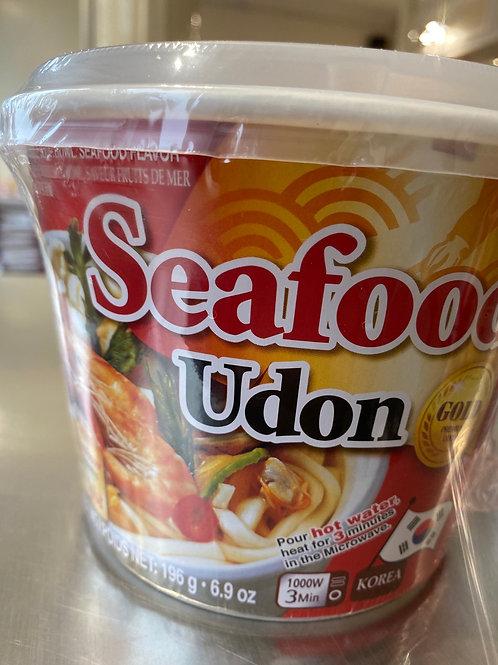Wang Korea Udon Noodle Bowl Seafood Flav 海鲜乌冬汤面