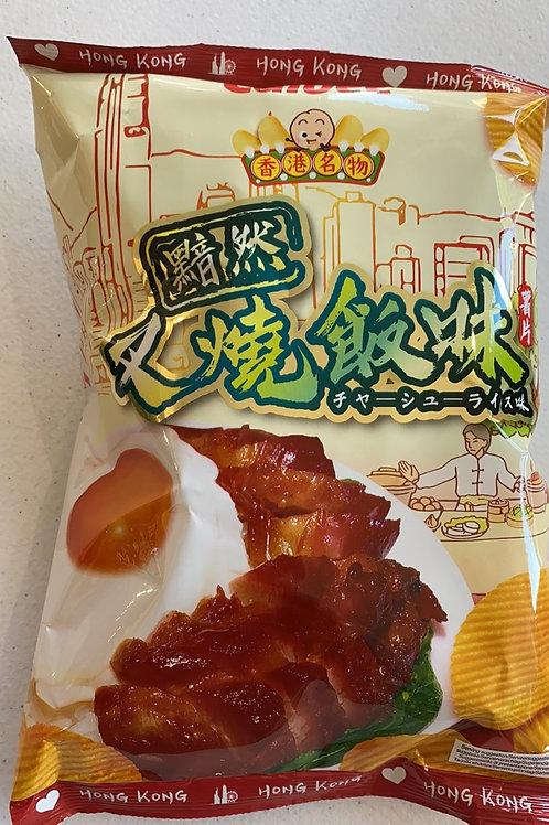 Calbee Potato Crisps Char -siu Rice Flav卡乐B叉烧饭味薯片