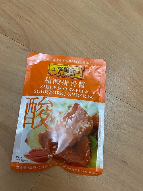LKK Sauce For Sweet & Sour Pork甜酸排骨酱
