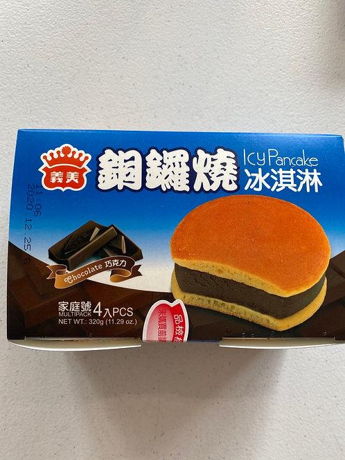 IM Icy Pancake Chocolate 4pcs 義美銅鑼燒巧克力