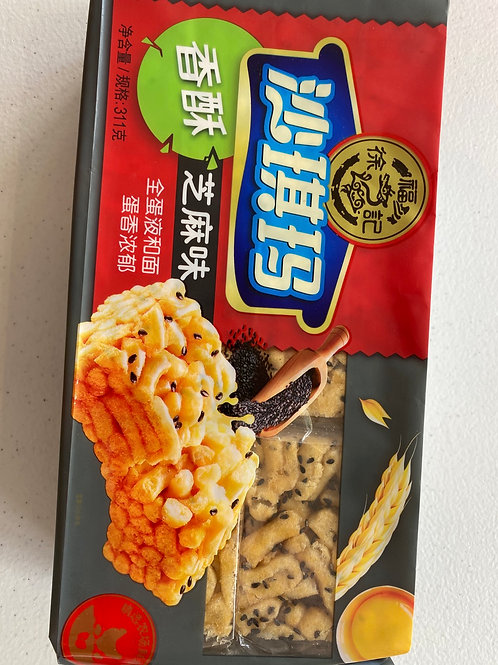 HSU Sesame Sachima 徐福記沙其馬香酥芝麻311g