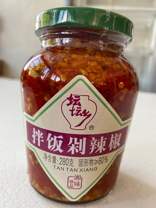TTX Seasoned Chopped Red Chilli 坛坛香拌饭剁辣椒