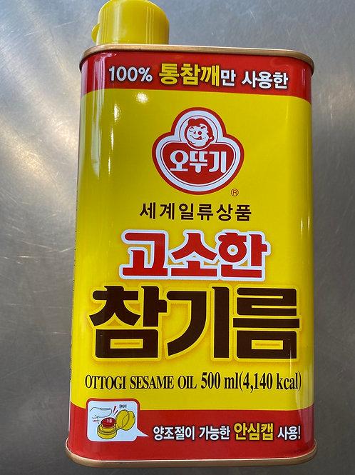 Korean Ottogi Sesame Oil 500ml 韩国芝麻油