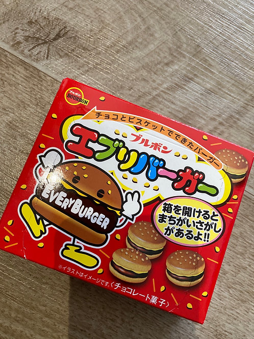 Japanese Every Burger Choco Biscuits