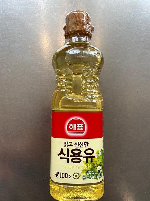Korean Soybean Cooking Oil 500ml 海牌韓國豆油