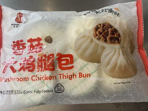 Freshasia Mushroom Chicken Thigh Bun 香源大鸡腿包