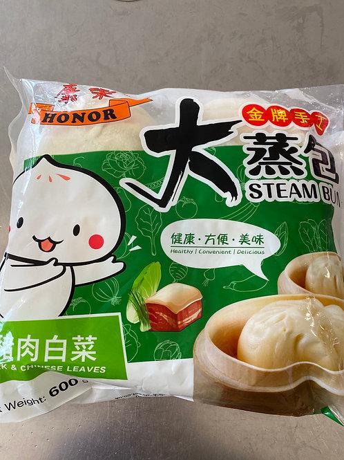 Steam Bun Pork & Chinese Leaves