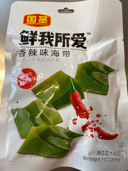 GS Seaweed Chilli Flav 国圣海带香辣味
