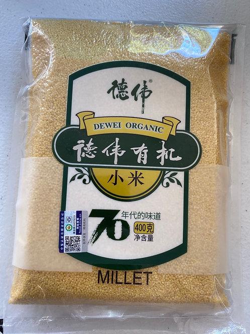 Dewei Organic Yellow Millet德偉有機小米
