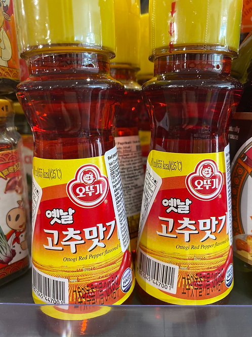 Ottogi Red Pepper Seed Oil 80g