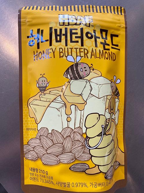 HBAF Honey Butter Almond 210g